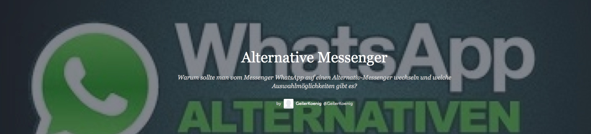 alternative messengerfix